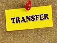 6 IAS और 1 IPS का ट्रांसफर