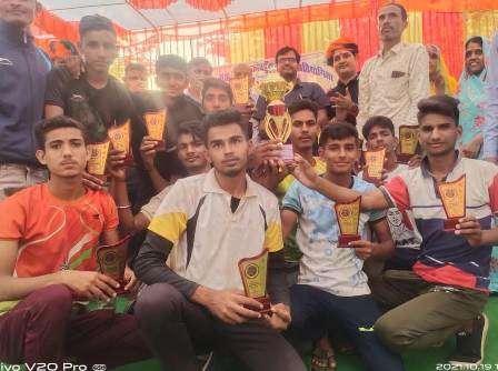 रायला की टीम कबड्डी में विजेता