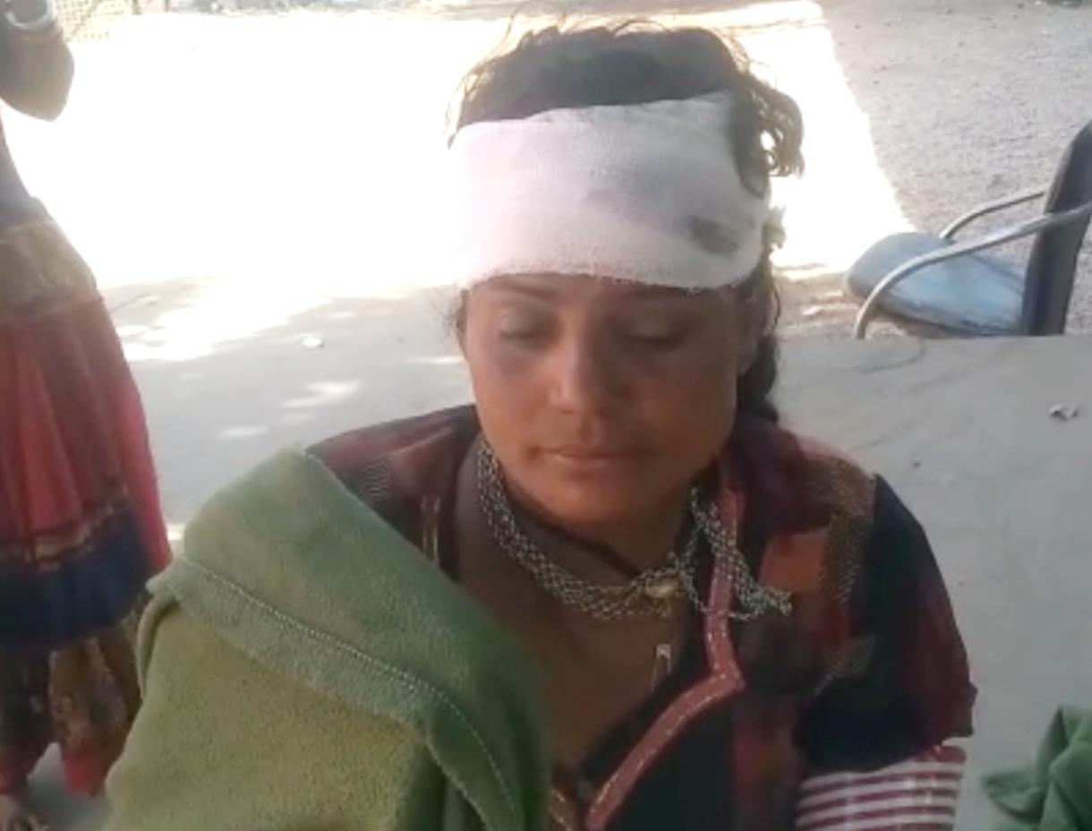 हमले में महिला घायल ,निर्माणाधीन मकान को लेकर हुआ झगड़ा