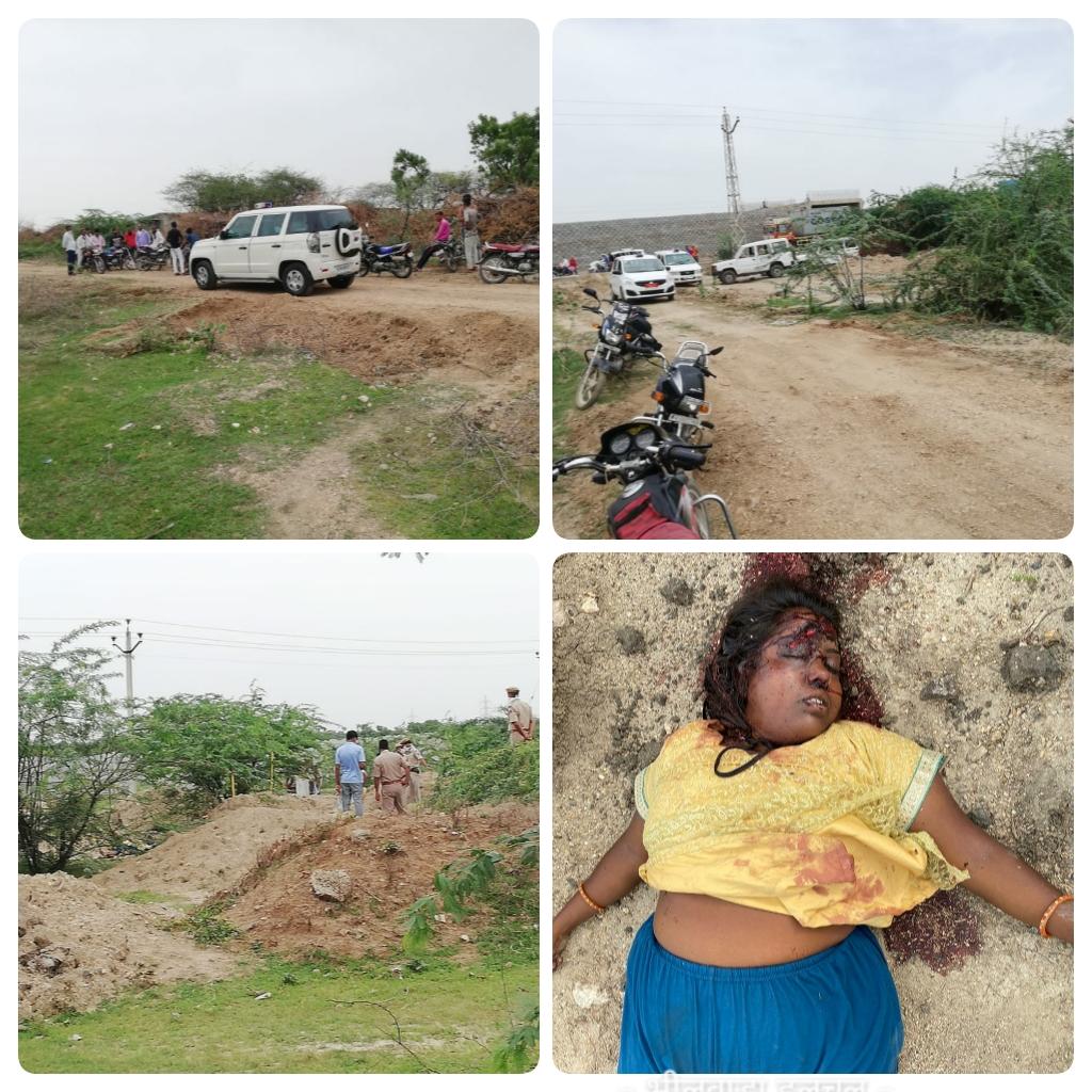 ट्रक चालक की पत्नी है हत्या की शिकार महिला, पति से अनबन के चलते अलग रह रही थी